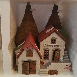 Dept 56 Holiday - Dept 56 Dickens Village Bishop Oast house